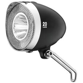 XLC LED Retro Battery Headlight for all Bikes, black